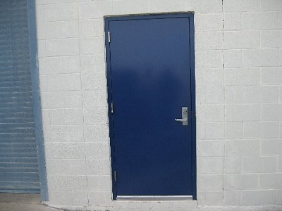 Commercial Metal Entry Door