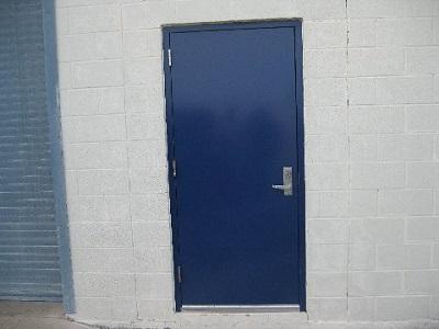 Commercial Metal Entry Door